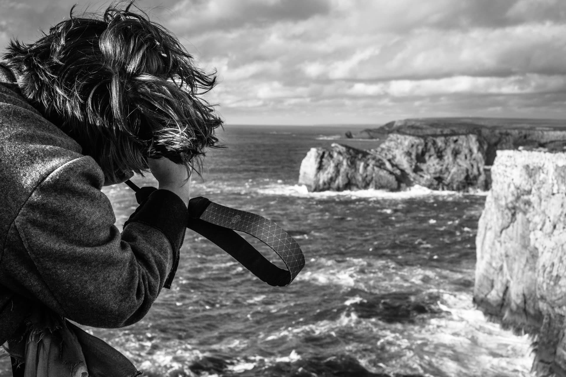 photographing wind and sea